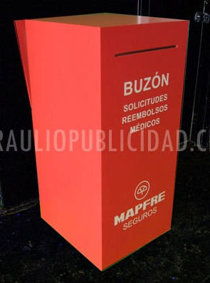 Buzon pedestal 365