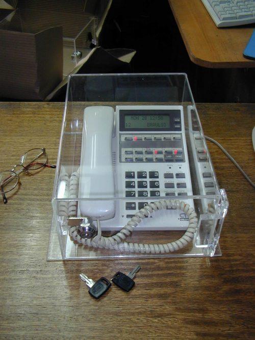 CAJA TELÉFONO acrilico