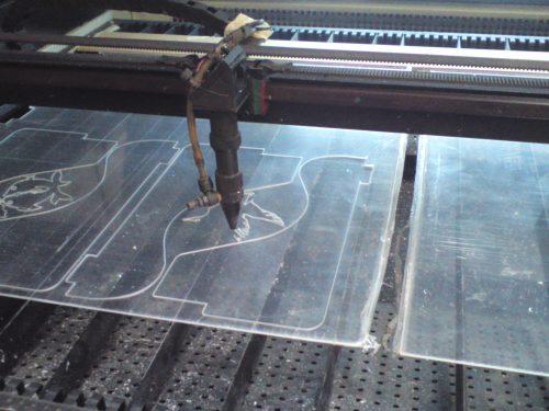 Corte laser acrilico