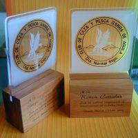 Galvano acrilico base madera 3