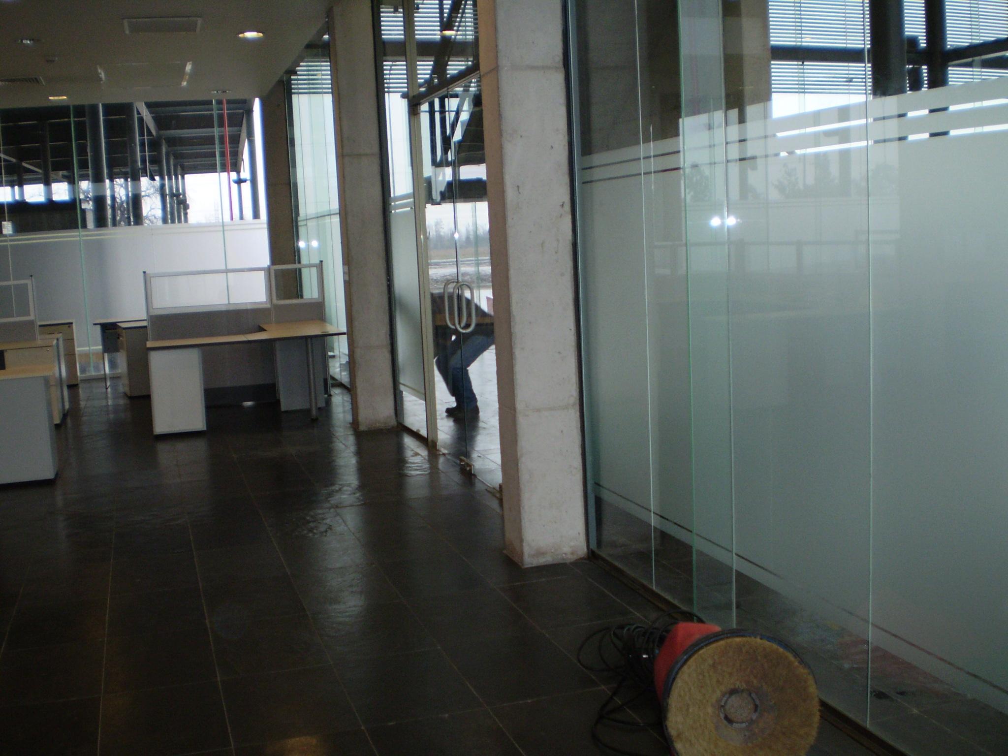 empavonado vidrios frosted dusted