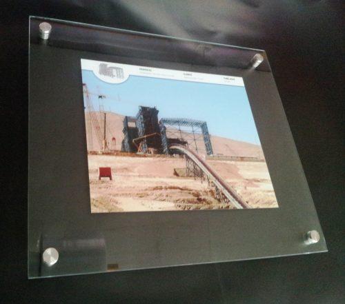 Placas doble cristal 4 mm imagen intercambiable
