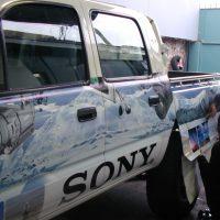 brandeado vehicular adhesivo controltack 3M impreso digital