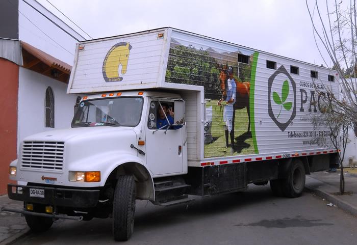 Grafica para carrocerías de camiones