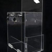 buzon acrilico transparente 318