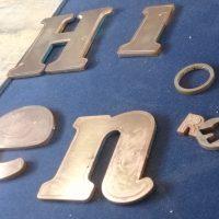 corte laser bronce 3 mm de espesor