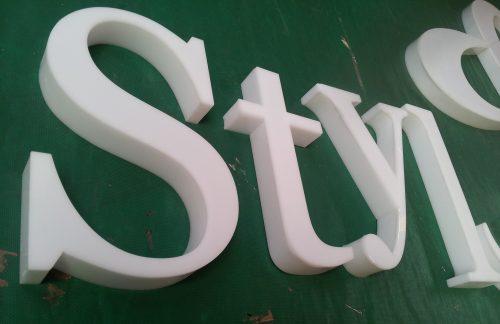 corte laser letras acrilico armado led