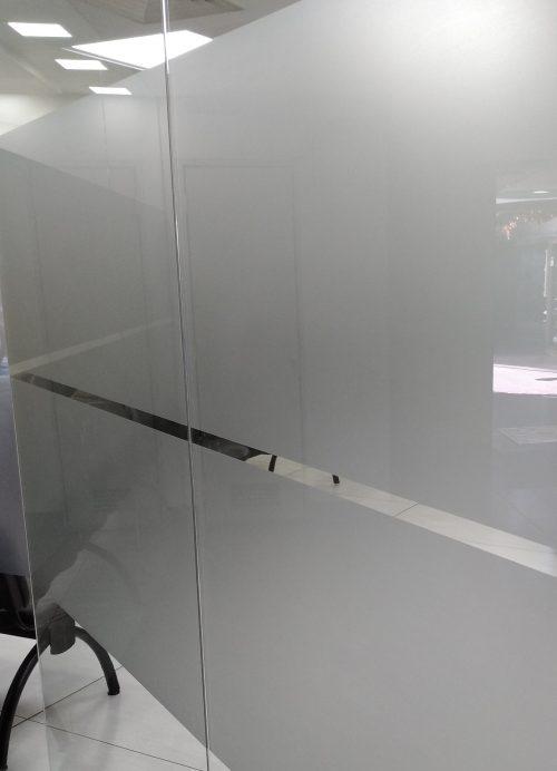 empavonado vidrio film frosted