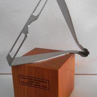 galvano acero corte laser base madera grabado laser