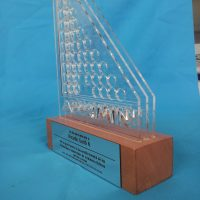 galvano acrilico 4 mm calado laser base madera