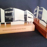 galvano acrilico 6 mm grabado laser base madera