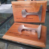 galvano madera grabado laser barnizado