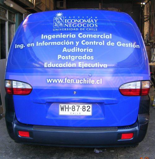 Grafica Vidrio Trasero Luneta Vehículo