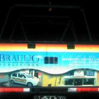 grafica vehicular reflectante 3M impreso
