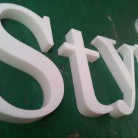 letras acrilico armado led