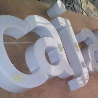 letras acrilico led interior