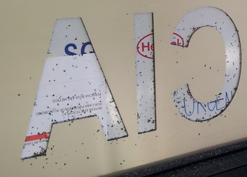 letras caladas router en alucobond 4 mm