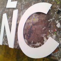 letras sintra corte router cnc