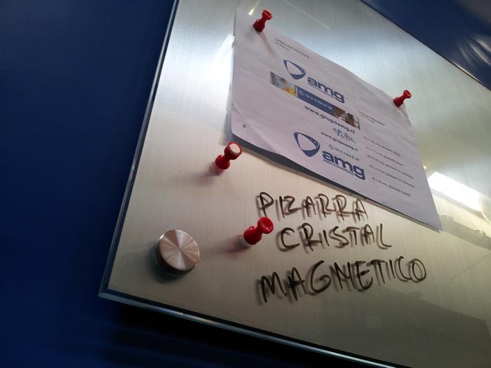 Pizarra Magnética Cristal Templado