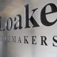 Placas corporativas acero bronce galvanizada corte laser