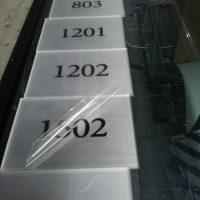 placas acrilico autoadhesivo interior mas fondo plata metalizado