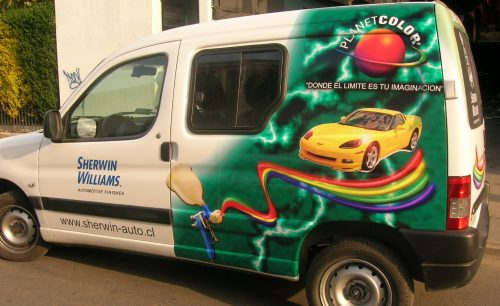 rotulacion vehicular adhesivo impreso 3M