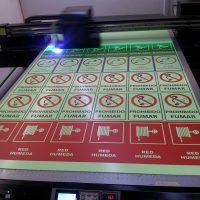 señaletica trovicel impreso UV