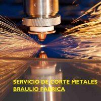 servicio corte laser metales