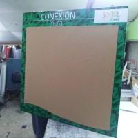 Diario mural mdf corcho e impresión digital plano