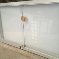 Diario mural magnético marco aluminio