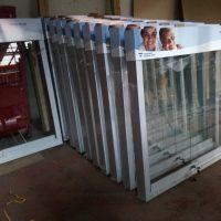diario mural marco aluminio cenefa recta aluminio compuesto 15 cm grafica