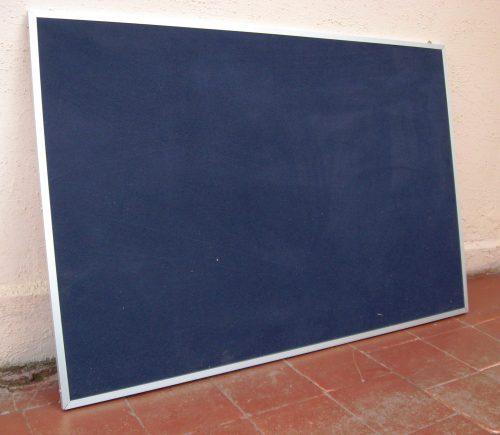 diario mural tela marco aluminio plano