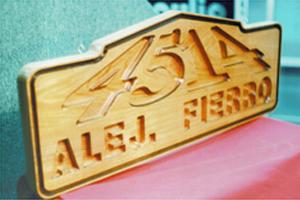 tallado madera nativa